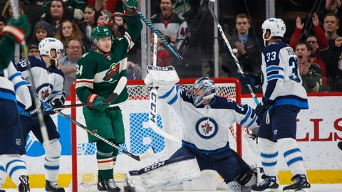 If the season ended today the Wild would be …