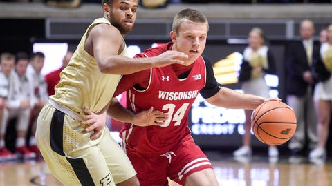 Brad Davison, Wisconsin guard (↑ UP)