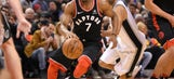 Lowry scores 24 points as Raptors beat Spurs 86-83