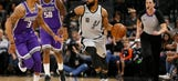 Forbes' season-high 23 lead Spurs past Kings, 113-98