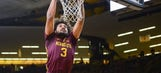 Murphy posts double-double in Gophers loss at Iowa