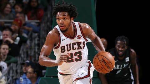 Bucks' Sterling Brown sues Milwaukee over stun-gun arrest