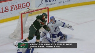 WATCH: Minnesotans lead Wild past Lightning on Hockey Day