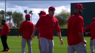Spring Training Report: 1-on-1 with Mike Trout