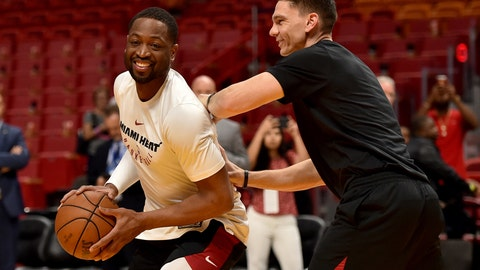 The Cavaliers send Dwyane Wade back to the Miami Heat