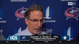 Torts says next step for Columbus is to finish: 'I like the way we played'