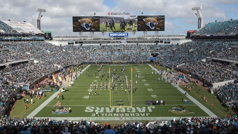 Jacksonville Jaguars' stadium will have new name starting next season