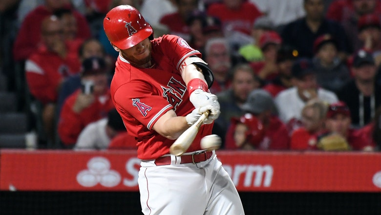 Rays acquire C.J. Cron from Angles for player to be named later, designate Corey Dickerson for assignment