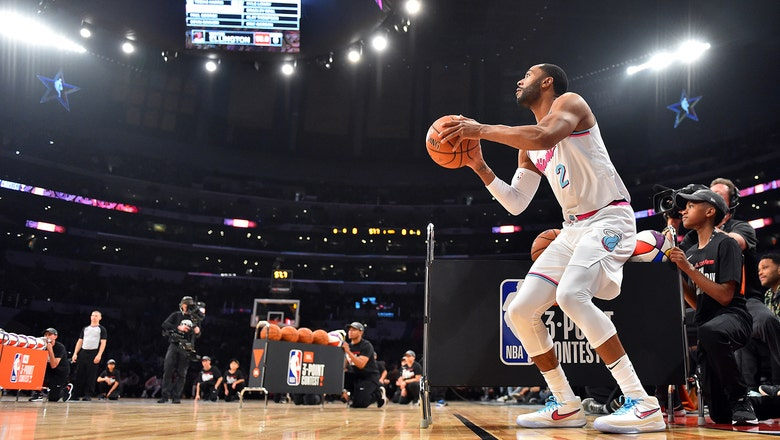 Heat guard Wayne Ellington ousted from 3-point contest after 1st round