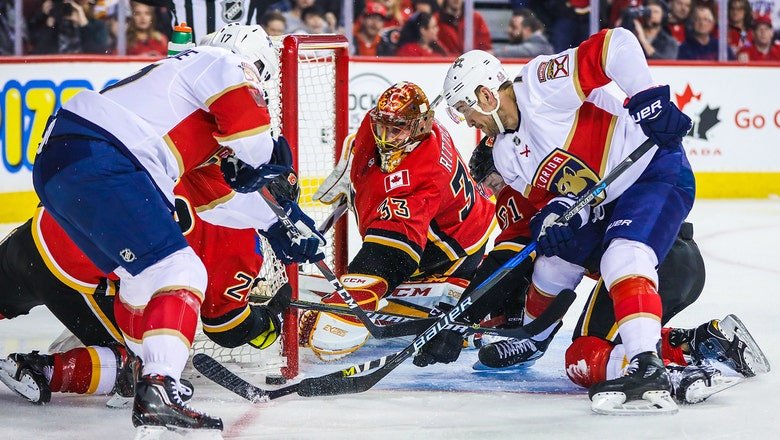 Roberto Luongo returns, Panthers spread scoring around in win over Flames