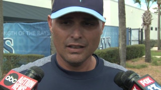 Manager Kevin Cash on how he expect moves will impact Rays