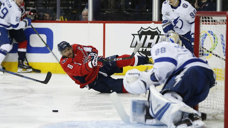 Lightning return to form, pick up road win over Capitals