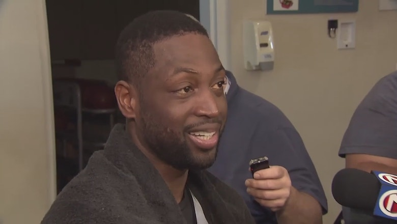 Dwyane Wade ready for playoff push with Miami Heat