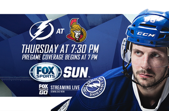 Preview: Lightning's three-game road trip continues in Ottawa