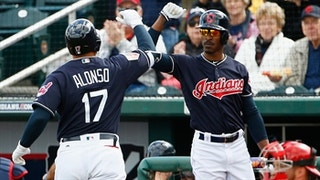 HIGHLIGHT: Yonder Alonso goes yard in first at-bat with Tribe