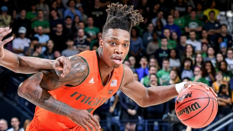 Lonnie Walker IV, SG, Miami