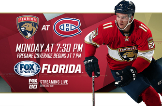 Preview: Panthers begin 3-game road trip in Montreal