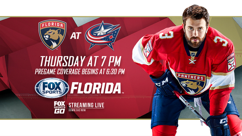 Preview: Panthers, Blue Jackets meet in matchup of teams fighting for playoff spot
