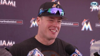 Justin Bour wants to set good example for new Marlins players