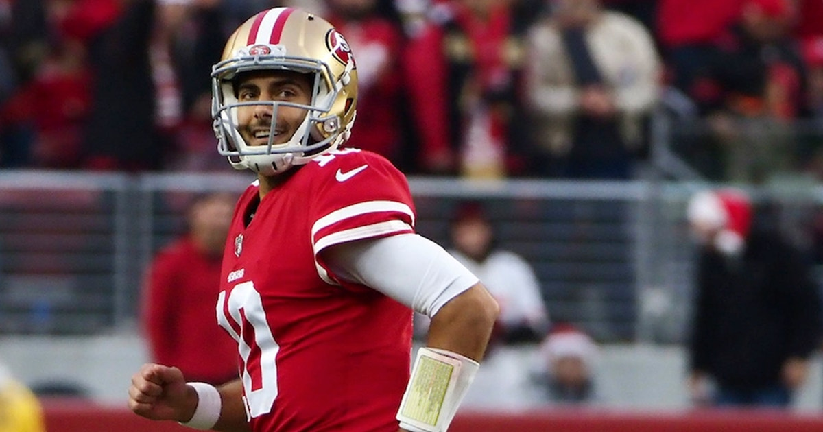 1257a7ff1 Doug Gottlieb talks Jimmy Garoppolo s reported 5-year