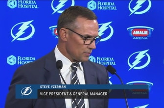 Lightning GM Steve Yzerman on acquiring Ryan McDonagh, J.T. Miller in blockbuster trade