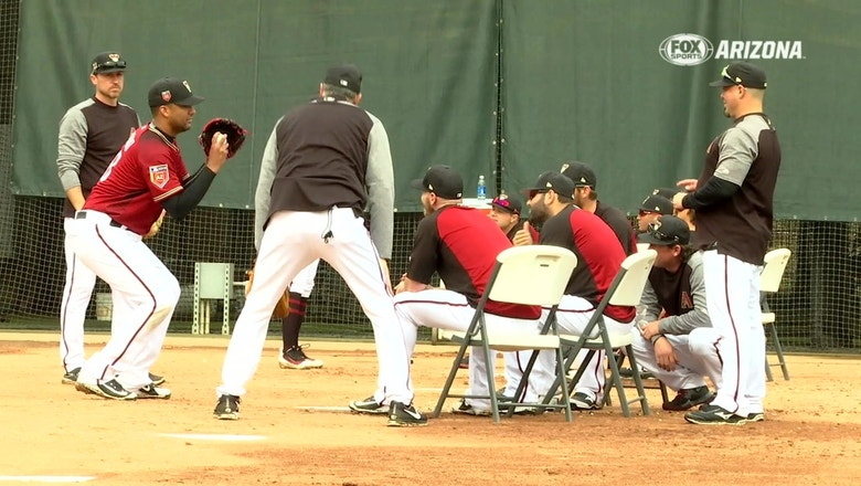 Getting-to-know-you-day for D-backs pitchers and catchers