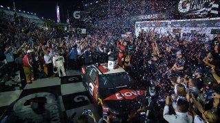 Austin Dillon takes no. 3 to victory lane