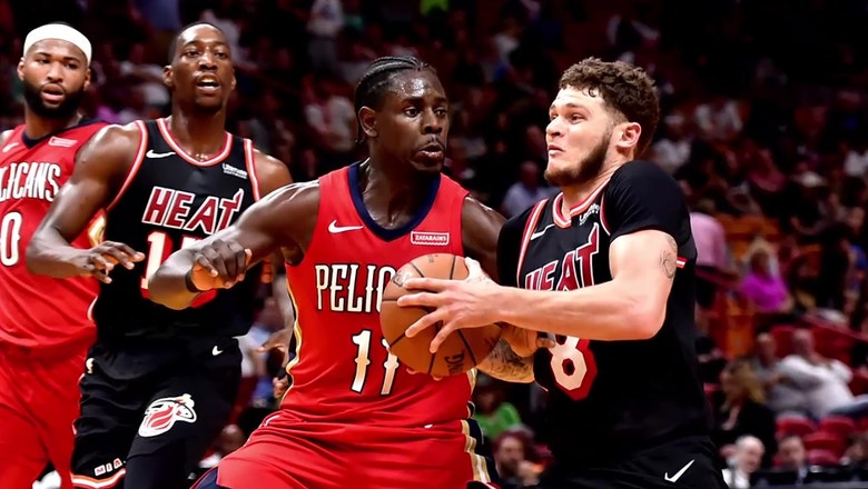 Game day Heat Flash: Miami Heat at New Orleans Pelicans