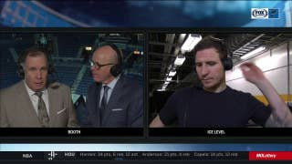 Steen on ref's penalty-shot call: 'It's probably best I don't get into that'