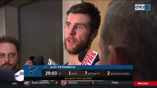 Pietrangelo: Blues are playing 'good hockey' but need to 'get results'