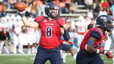 <p>(STATS) - The loss of the three quarterbacks who were named STATS FCS All-Americans last season would seem to suggest the position is in a retooling stage for this year.</p><p>That's far from the case.</p><p>Although Sam Houston State's Jeremiah Briscoe (first team), South Dakota's Chris Streveler (second team) and Richmond's Kyle Lauletta (third team) were seniors, plenty of top signal callers will return in 2018. In fact, nearly two-thirds of the teams in the final Top 25 rankings can make that claim.</p><p>The senior class will feature Eastern Washington's Gage Gubrud, who finished third in the 2016 STATS Walter Payton Award voting, as well as Samford's Devlin Hodges and South Dakota State's Taryn Christion, who were fourth and sixth, respectively, in the 2017 voting.</p><p>Among active FCS quarterbacks, they are the top three in career total offense - Hodges with 11,005 yards, Christion, 9,697, and Gubrud, 9,441. Two years ago, Gubrud set the FCS single-season record for passing yards (5,160).</p><p>Easton Stick of 2017 FCS champion North Dakota State is a 2 1/2-year starter heading into his final season. The senior class also includes Villanova's Zach Bednarczyk, who was injured for much of last season; Kennesaw State's Chandler Burks; Northern Iowa's Eli Dunne; New Hampshire's Trevor Knight; San Diego's Anthony Lawrence, who's thrown for 81 career touchdowns with only 17 interceptions; Lehigh's Brad Mayes; Western Illinois' Sean McGuire; North Carolina A&T's Lamar Raynard; and McNeese's James Tabary.</p><p>The junior class has a pair of quarterbacks who joined Gubrud to give the Big Sky a trio in the FCS top 10 for passing yards - UC Davis' Jake Maier and Northern Arizona's Case Cookus, the 2015 national freshman of the year.</p><p>Bryant's Price Wilson also was in the top 10 and joins Western Carolina dual-threat Tyrie Adams and Montana State's Chris Murray to help highlight the junior class.</p><p>The freshman class of QBs was particularly strong last sea
