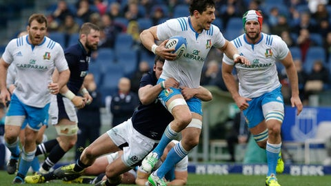 Zanni to win 100th cap as inexperienced Italy face England