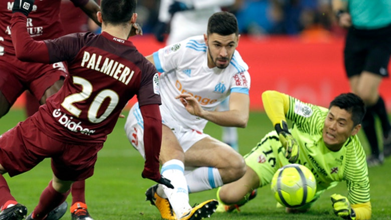 Thauvin nets hat trick as Marseille beats Metz 6-3 to go 2nd