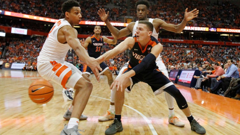 Smothering defense leads No. 2 Virginia past Syracuse