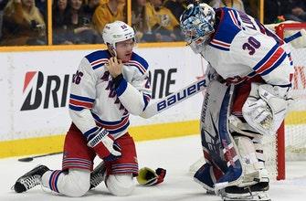 NHL suspends Predators' Forsberg 3 games for hit on Vesey