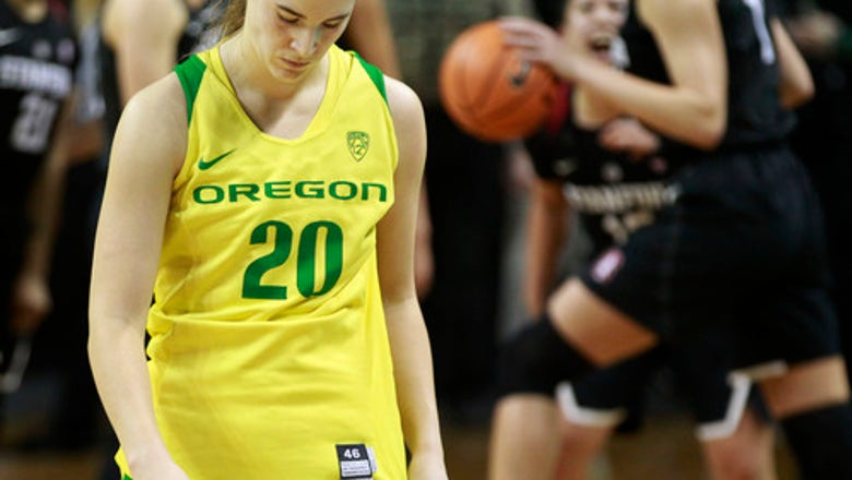 McPhee helps No. 24 Stanford upset No. 6 Oregon 78-65