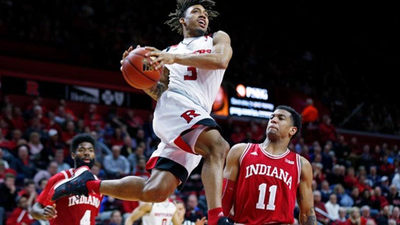 Morgan scores 24, Johnson adds 19 as Indiana beats Rutgers