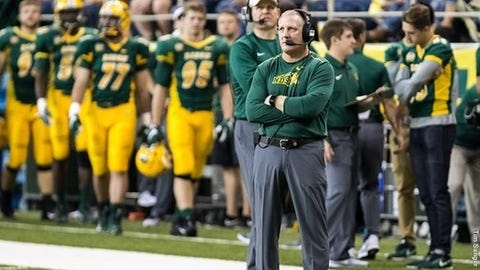 <p>(STATS) - FCS champion North Dakota State put the finishing touch on its 2018 recruiting class by adding four signees to its early group from December.</p><p>Coach Chris Klieman announced the additions of wide receiver Kenneth Channelle (Jacksonville, Florida) and Zach Mathis (Tampa, Florida) and linebacker Jasir Cox (Kansas City, Missouri) and Juanye Tillman (Orlando, Florida).</p><p>Cox's older brother Jabril plays linebacker for the Bison and was named the Missouri Valley Football Conference's 2017 freshman and newcomer of the year.</p><p>In December, North Dakota State had one of the larger early groups of newcomers in the FCS with 19 signees plus five recruited walk-ons. It featured quarterback Trey Lance (Marshall, Minnesota); wide receiver Phoenix Sproles (New Hope, Minnesota) - the cousin of NFL running back Darren Sproles; defensive tackle Samuel Moore (Verndale, Minnesota); and offensive linemen Joe Schreiber (Chanhassen, Minnesota) and Jalen Sundell (Maryville, Missouri).</p><p>---=</p><p>North Dakota State 2018 Signing Class</p><p>Kenneth Channelle, WR, 5-10, 170, Jacksonville, Fla. (Ribault)</p><p>Saybein Clark, RB, 6-0, 196, Sioux City, Iowa (Bishop Heelan)</p><p>Brendan Cook, DL, 6-4, 235, Libertyville, Ill. (Libertyville)</p><p>Jasir Cox, LB, 6-1, 200, Kansas City, Mo. (Bishop Miege)</p><p>Jackson Enz, S, 6-0, 181, Walworth, Wis. (Big Foot)</p><p>Dylan Evans, DT, 6-3, 243, Williston, N.D. (Williston)</p><p>Jaydn Ewing, DE/TE, 6-3, 231, Watford City, N.D. (Watford City)</p><p>James Kaczor, S, 5-11, 189, St. Cloud, Minn. (St. Cloud Tech)</p><p>Mitchell Kartes, LB, 6-0, 195, Albertville, Minn. (St. Michael-Albertville)</p><p>Trey Lance, QB, 6-3, 215, Marshall, Minn. (Marshall)</p><p>Hunter Luepke, FB/TE, 6-1, 225, Spencer, Wis. (Spencer)</p><p>Zach Mathis, WR, 6-5, 190, Tampa, Fla. (Berkeley Prep)</p><p>Samuel Moore, DT, 6-5, 237, Verndale, Minn. (Verndale)</p><p>Bryan Nohava, OL, 6-4, 275, Hawarden, Iowa (Gehlen Catholic)</p><p>Bartholomew Ogbu, DE,