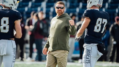 """<p>(STATS) - Montana State announced it has extended coach Jeff Choate's contract by three years through the 2021 season on Thursday.</p><p>Choate has a 9-13 record in two seasons, including 5-6 last year after the Bobcats ended the campaign by beating rival Montana for the second straight time. His original contract went through the 2018 season.</p><p>""""I am excited about the progress Jeff has made and continues to make with our football team,"""" athletic director Leon Costello said. """"He and his staff are building this program the right way, attracting high-quality student-athletes that are performing in the classroom and on the field. The foundation is set for the future of Bobcat football.""""</p><p>Montana State will open spring practice on March 3.</p>"""