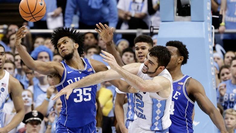 No. 21 North Carolina rallies to beat No. 9 Duke 82-78
