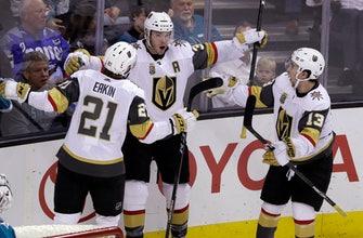 Neal scores go-ahead goal in Vegas' 5-3 win over Sharks