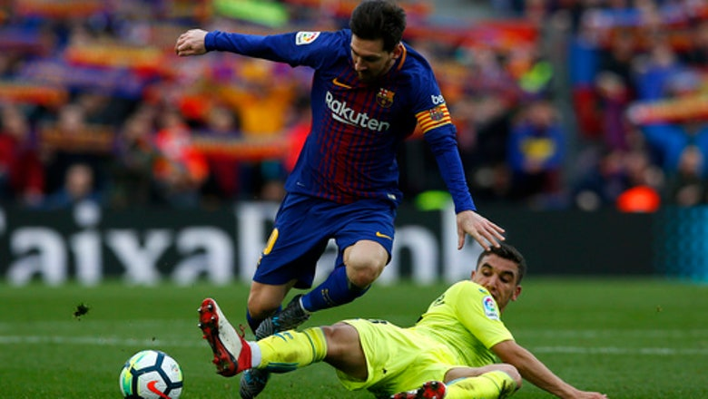 Barcelona stumbles again, held 0-0 at home by Getafe