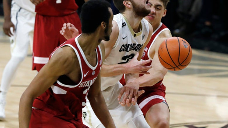 Buffs win third straight as Colorado downs Stanford 64-56