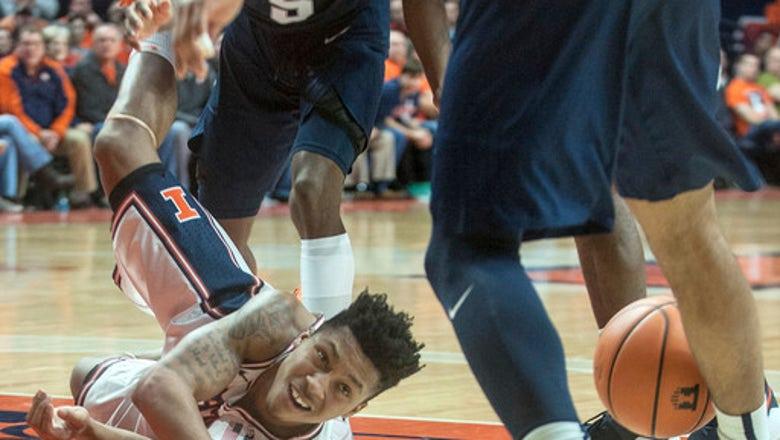 Garner, Carr help Penn State beat Illinois 74-52