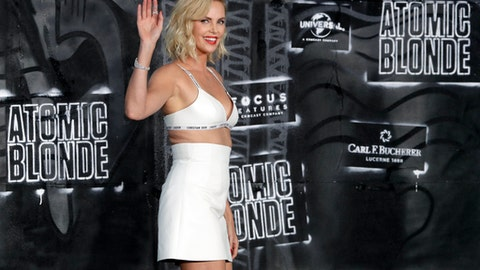 Actress Charlize Theron named honorary starter for Daytona 500