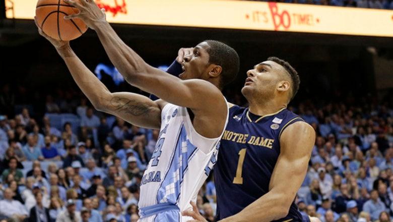 No. 14 North Carolina pulls away late, tops Notre Dame 83-66