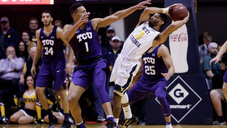 Strong bench scoring helps No. 20 WVU beat TCU 82-66
