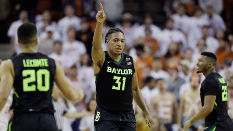 Baylor tops Texas 74-73 in double OT