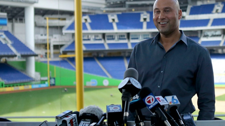 Now an owner, Jeter heads to 1st spring training since 2014