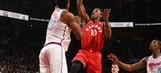 DeRozan scores 27, Raptors hold off Heat 115-112